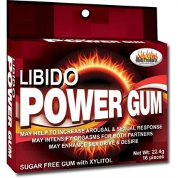 Libido Power Gum - Pack of 16 image.