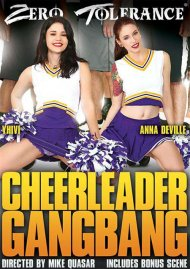 Cheerleader Gangbang DVD Image from Zero Tolerance Ent.