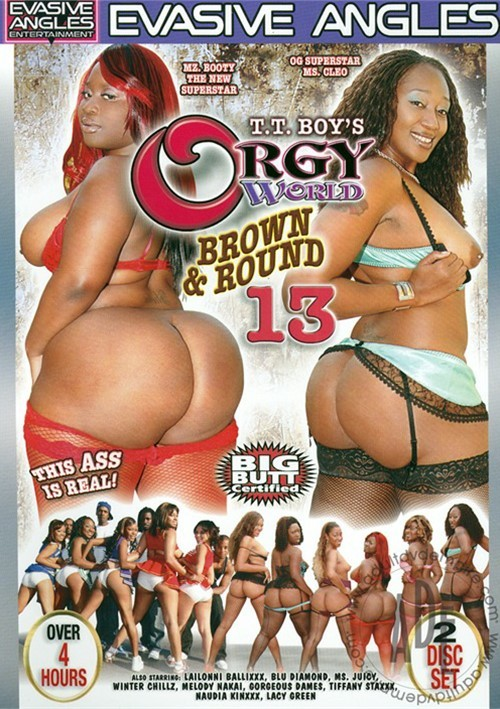 Brown and round orgy