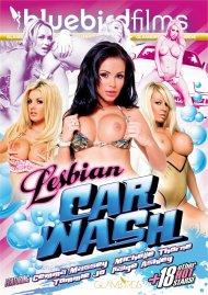 Lesbian Car Wash HD Porn Video.