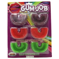 Gum Job: Gummy Candy Teeth Covers  Sex Toy
