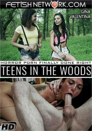 Teens In The Woods: Gina Valentina HD porn video from Fetish Network!