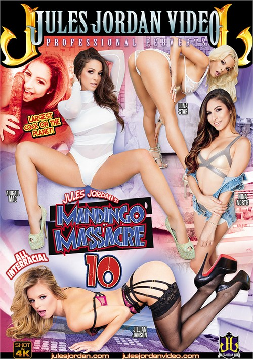 Abigail Mac stars in Mandingo Massacre 10 DVD porn movie.