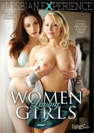 Women Loving Girls 2 DVD porn movie from Digital Sin.
