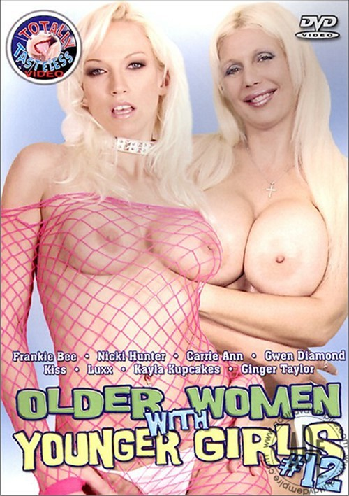 Older Women with Younger Girls 12 Old & Young Females (18+) Kiss Nicky Hunter