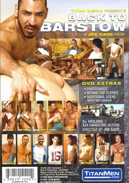 Back To Barstow Gay Dvd 24