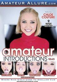 Amateur Introductions Vol. 24 DVD porn movie from Amateur Alliance.