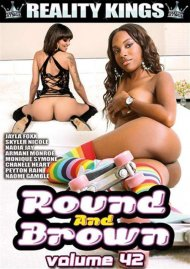 Round And Brown Vol. 42 DVD Image from Reality Kings.