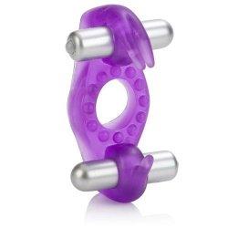 Ringmaster: Dual Vibrating Bouncin' Bunny Ring Enhancer Sex Toy