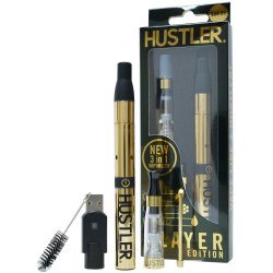 Hustler Player Edition Vaporizer Kit - Gold Sex Toy
