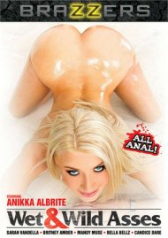 Wet & Wild Asses DVD porn movie from Brazzers.
