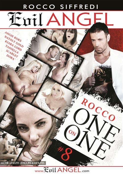 Rocco One On One #8 DVD Image from Evil Angel.
