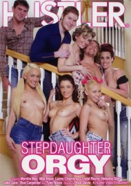 Stepdaughter Orgy DVD porn movie from Hustler.