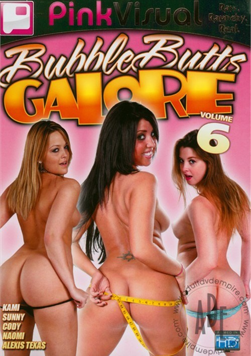 Bubble Butts Galore Vol. 6 Pink Visual 2007 Gonzo
