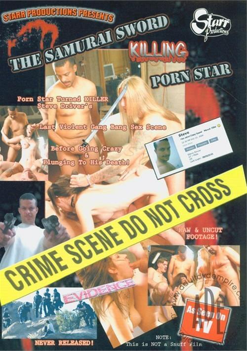 Samurai Sword Killing Porn Star, The Starr Productions Tommy Gunn Steve Driver