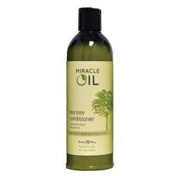 Earthly Body Miracle Oil Conditioner - 16 oz - Tea Tree Sex Toy
