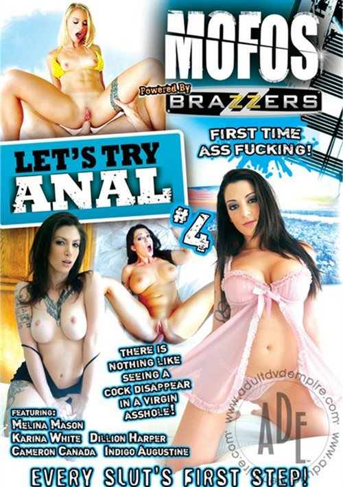 Let's Try Anal 4- On Sale! MOFOS Gonzo Melina Mason