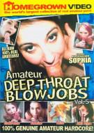 Amateur Deepthroat Blowjobs #5 Porn Movie