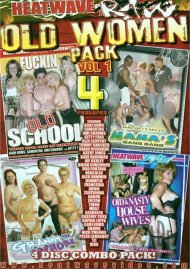 Old Women Vol. 1 4-Pack Porn Movie
