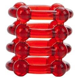Colt Enhancer Rings - Red Sex Toy