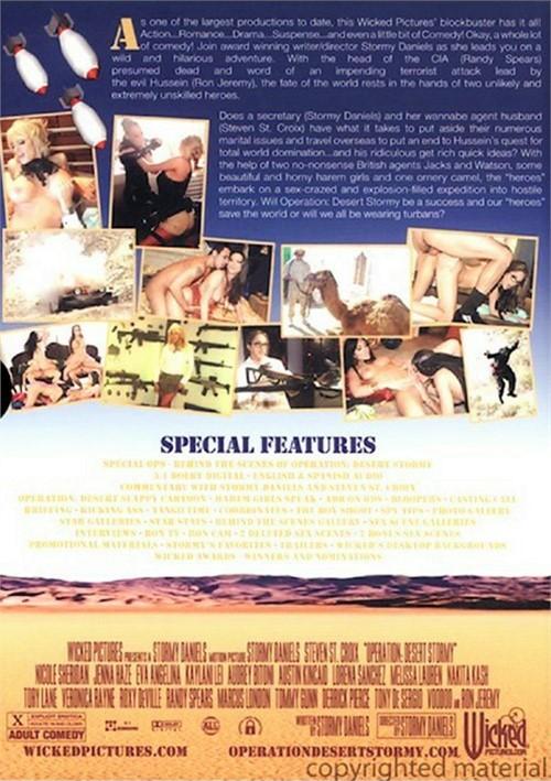 Wicked Pictures Presents XXX Parody Movie Operation: Desert Stormy