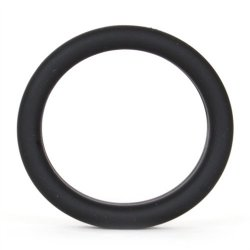 Super Soft Cock & Ball Ring - Black Sex Toy