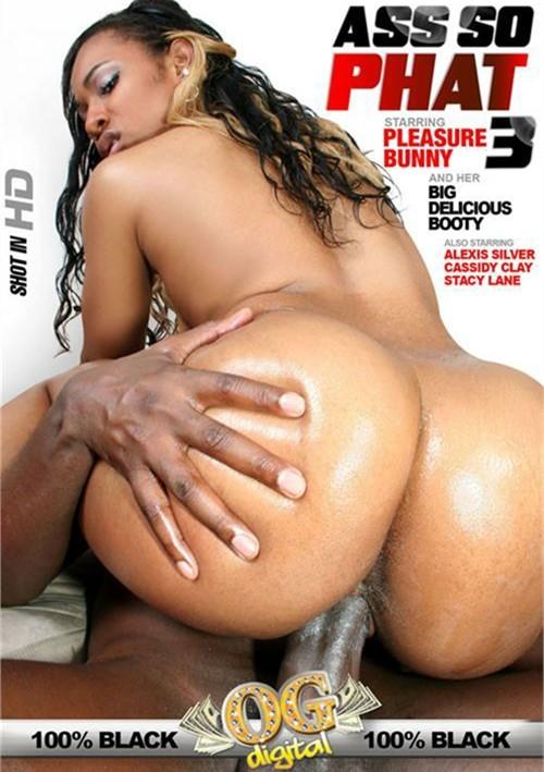 Ass So Phat #3- On Sale! Pleasure Bunny Robert Hill Releasing Co. Black