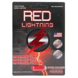 Red Lightning Super Charged Sexual Enhancement Sex Toy
