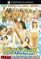 Beach Party de cul Quebecois Porn Video