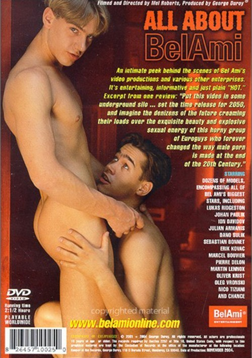 All About Bel Ami Cover Back