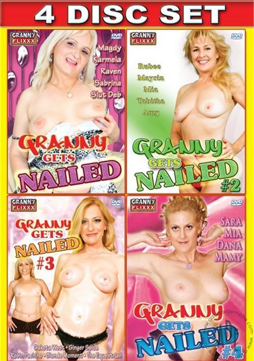 Granny Gets Nailed 4-Pack Mature Ginger Spice (II) Mayrin Villanueva