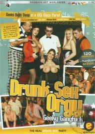 Drunk Sex Orgy: Geeky Gangfuck Porn Video