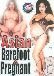 Asian Barefoot & Pregnant Porn Video