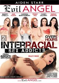 Interracial Sex Addicts  porn video from Evil Angel - Aiden Starr.
