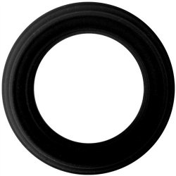 Adonis Silicone Ring: Caesar - Black Sex Toy
