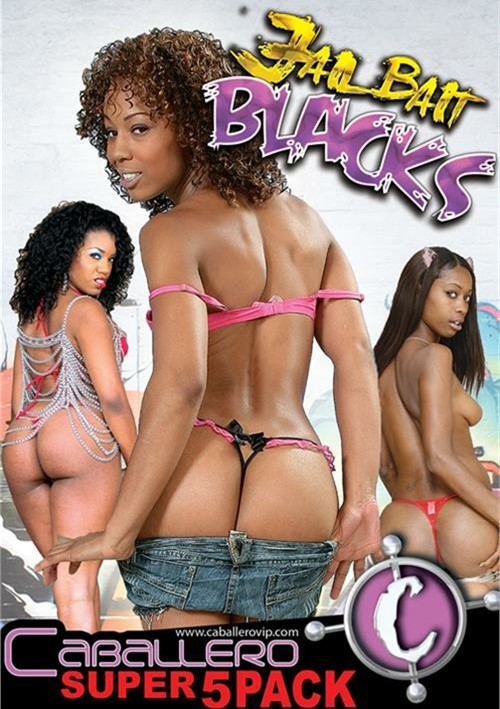 Jail Bait Blacks (5-Pack) Boxed Sets All Sex Caballero Home Video