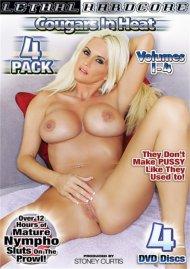 Cougars In Heat 4-Pack Porn Movie