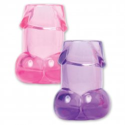 Bachelorette Party Favors Pecker Shot Glasses - 6 Piece Sex Toy