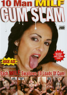 10 Man MILF Cum Slam Porn Movie