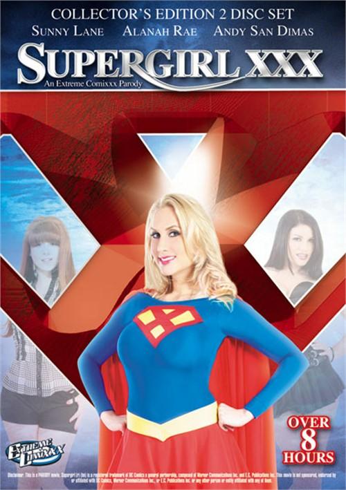 Supergirl XXX: An Extreme Comixxx Parody