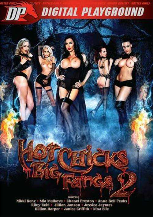 Riley Reid, Chanel Preston, Dillion Harper, Jillian Janson, Mia Malkova, Nina Elle, Nikki Benz, Anna Bell Peaks, Janice Griffith, Jessica Jaymes - Digital Playground - Hot Chicks Big Fangs 2