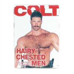 Colt Hairy Chested Men Playing Cards Sex Toy