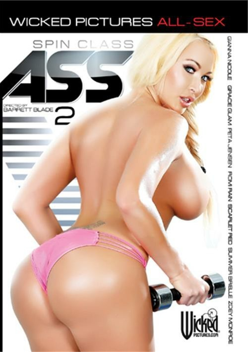 Spin Class Ass 2 Clover Gracie Glam Scarlet Red