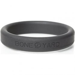 "Boneyard Silicone Ring - 2.0"" (50 mm) - Gray Sex Toy"