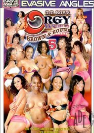 Orgy World: Brown & Round 5 Porn Video
