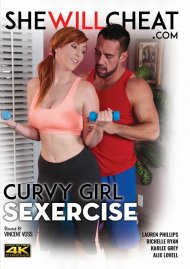 Curvy Girl Sexercise porn video from She Will Cheat.