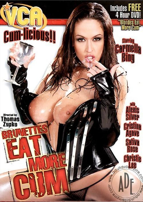 Brunettes Eat More Cum 87