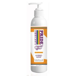 Pride Hybrid Water Based Silicone Lube - 8 oz Sex Toy
