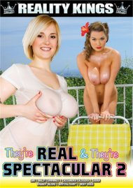 They're Real & They're Spectacular 2 DVD porn movie from Reality Kings.
