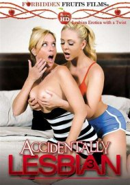 Accidentally Lesbian #3 DVD Image from Forbidden Fruits Films.